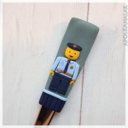 Lego rendőr