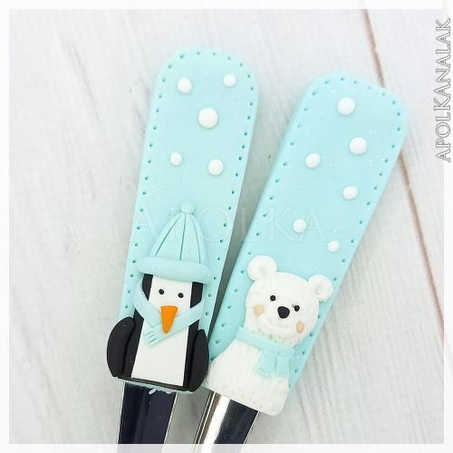 Pingvin és jegesmedve páros