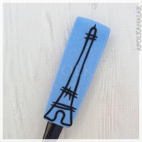 Eiffel torony kék